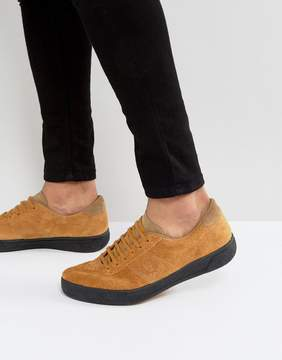 Fred Perry B1 Sports Authentic Suede Tennis Sneakers in Tan