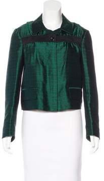 Dries Van Noten Silk Patterned Jacket