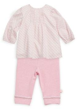 Offspring Baby Girl's Two-Piece Tunic & Leggings Set
