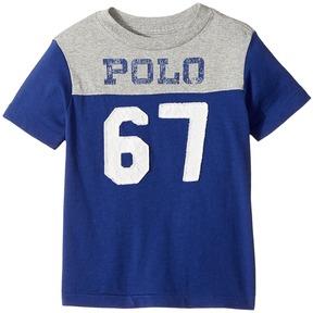 Polo Ralph Lauren Kids - Cotton Jersey Graphic T-Shirt Boy's T Shirt
