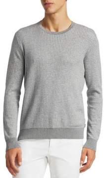 Michael Kors Square Jacquard Knit Sweater