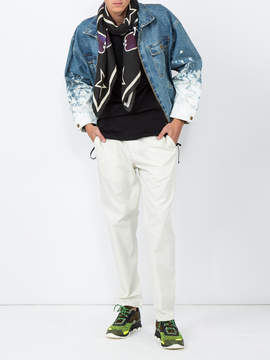 Fear Of God Painted sleeves denim jacket