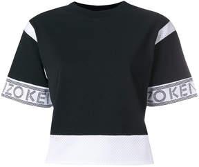 Kenzo logo crop top