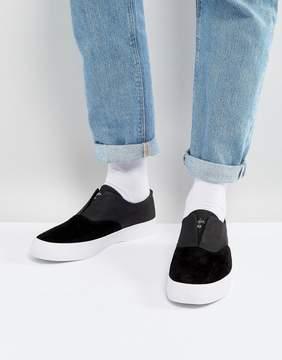 HUF Dylan Slip On Sneakers In Black