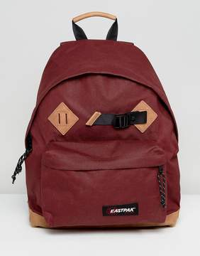 Eastpak Padded Pak'R Backpack In East Merlot