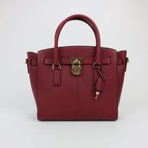 Michael Kors Hamilton Large East West Satchel $298 - RED - STYLE