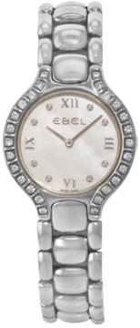Ebel Beluga E9976418-20 Stainless Steel & Diamonds Quartz 24mm Womens Watch