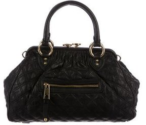 Marc Jacobs Quilted Stam Bag - BLACK - STYLE