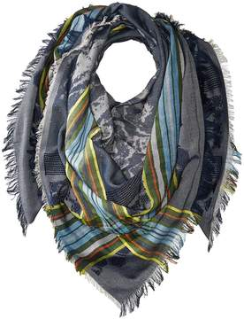 Echo Oversize Plaid Square Scarf Scarves