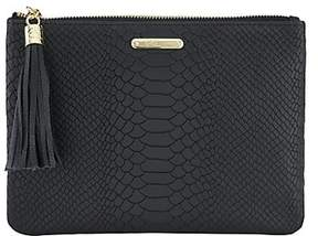 GiGi New York All-In-One Leather Clutch