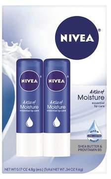Nivea Original Moisture Lip Balm Dual Pack