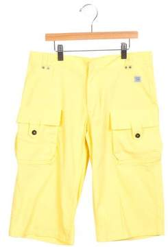 Roberto Cavalli Boys' Wide-Leg Casual Shorts