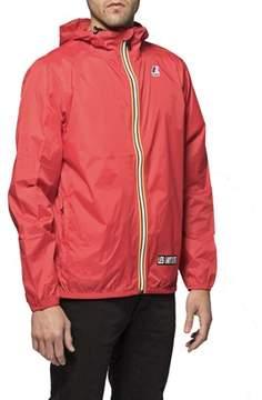 K-Way Men's La04kcla71rd Red Polyamide Outerwear Jacket.