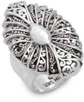 Lois Hill Sterling Silver Fan Ring