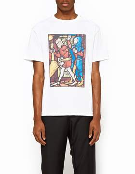 J.W.Anderson Stain Glass Print Short Sleeve T-Shirt