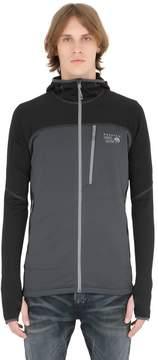 Mountain Hardwear Desna Grid Hooded Fleece Jacket