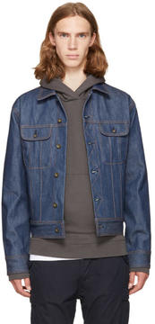 Rag & Bone Indigo Denim Jacket