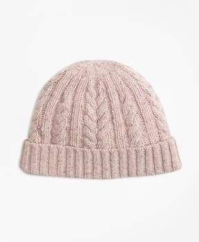 Brooks Brothers Cable-Knit Alpaca-Wool-Blend Hat