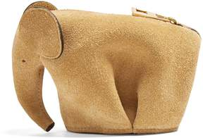 Loewe Elephant suede coin purse