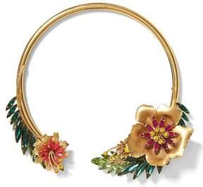 Banana Republic Elizabeth Cole | Tropical Collar Necklace