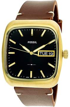 Fossil Men's Rutherford FS5332 Brown Leather Quartz Fashion Watch