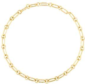 Aurelie Bidermann Hammered chain necklace
