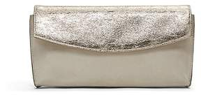 Banana Republic Metallic Small Foldover Clutch