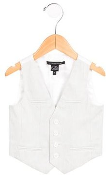 Little Marc Jacobs Boys' Pinstripe Fitted Vest