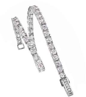 Crislu Cubic Zirconia Tennis Bracelet
