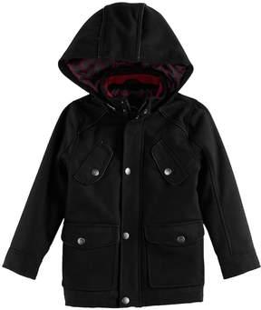 Urban Republic Toddler Boy Wool Military Midweight Jacket