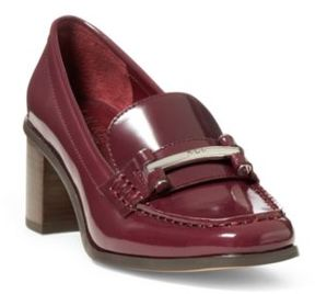 Ralph Lauren Dalena Leather Loafer Port 11.5