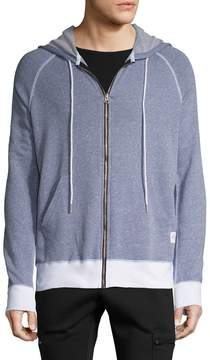 Kinetix Men's Modern Cotton Zip Front Hoodie