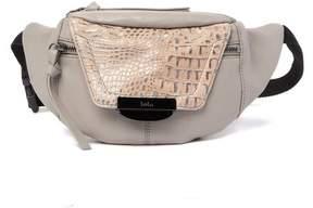 Kooba Panama Croc Embossed Leather Belt Bag
