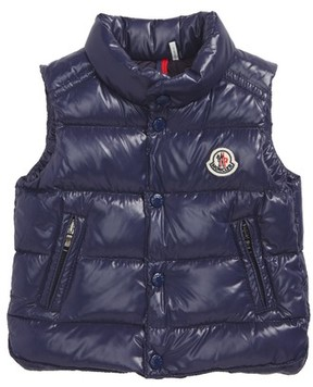 Moncler Infant Boy's Bernard Water-Resistant Down Puffer Vest