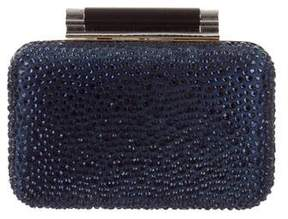Diane von Furstenberg Crystal Leather Clutch