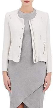 IRO Women's Agnette Distressed Cotton Jacket