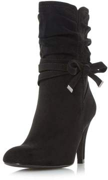 Head Over Heels *Head Over Heels by Dune Black 'Rayna' Heeled Boots