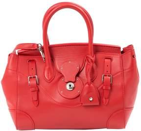 Lauren Ralph Lauren Red Leather Handbag