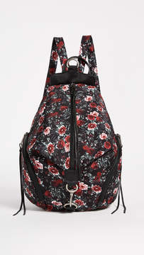 Rebecca Minkoff Julian Nylon Backpack - ROSE FLORAL - STYLE