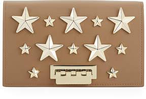 Zac Posen Earthette Stars Crossbody Bag, Tan