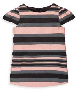 Milly Minis Girl's Chloe Striped Dress