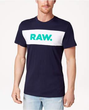 G Star Men's Bellar Colorblocked Logo-Print T-Shirt