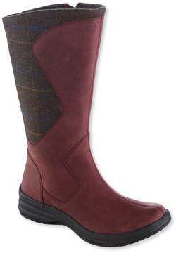 L.L. Bean L.L.Bean Women's North Haven Boots, Wool/Leather Tall