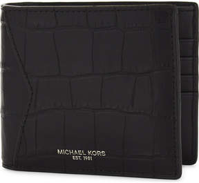Michael Kors Bryant billfold leather wallet - BLACK - STYLE