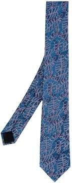 Cerruti floral print tie