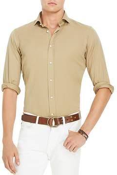 Polo Ralph Lauren Garment Dyed Cotton Classic Fit Button-Down Shirt