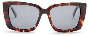 Joe's Jeans Women's Polarized Squared 54mm Sunglasses