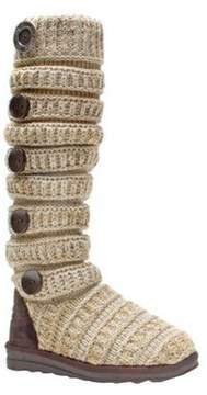 Muk Luks Women's Miranda Marled Texture Stripe Boot