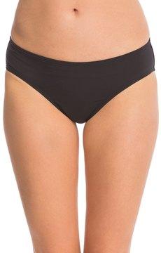 Anne Cole Color Blast Solid Classic MidRise Bikini Bottom - 8137548