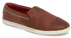 OluKai Women's Alohi Embossed Cap Toe Slip-On